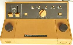1977 hanimex 777 early electonic tv game