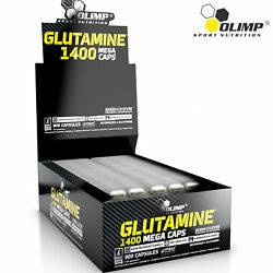 Glutamine Pills Food Supplement - Maximum Recovery And Muscle Mass Growth Support