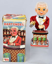 rosko battery op bartender box lot 75