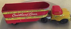 1940 tin courtland lines wind up tractor