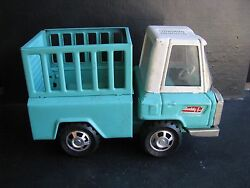 buddy l painted tin steel truck
