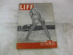 Life Magazine March 17th 1947 Director Of Youth Center Published By Time Mg202