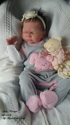 reborn baby puppe reallife penelope nach