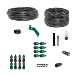 Drip Tape Irrigation Kit For Row Crops And Gardens Deluxe Size