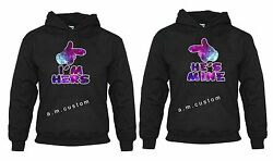 His Mine Iand039m Hers Valentine Love Couple Matching Funny Cute Hoodies S-3xl