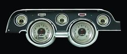 Classic Instruments 1967 - 68 Ford Mustang Gauge Cluster American Nickel Mu67an