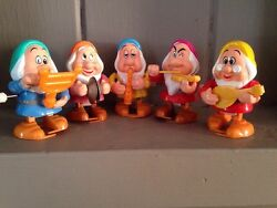rare 5 tomy wind up toys walt disney 5 of