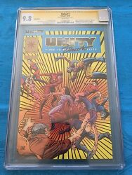 Unity #1 Gold Edition - Valiant - CGC SS 9.8 NM/MT - Signed by Jim Shooter