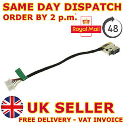 Dc Jack Power Cable For Hp 15-au018wm Pavilion Charging Wire Socket Connector