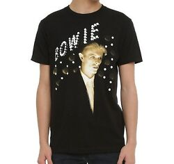 David Bowie Lights T-Shirt 100% Authentic & Official