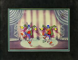 Warner Bros The Entertainers 1991   Fritz Freleng Bugs Bunny Hand Painted Cel