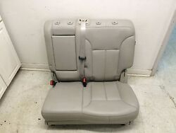 Mercedes Benz Oem Gl450 W164 Rear Left Second 2nd Row Seat Folding Bench Gray
