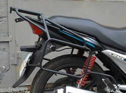 Honda CB125E Whole welded luggage rack system soft bags Black Mmoto HON0124 $157.00