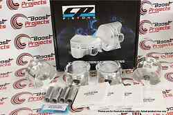 Cp Forged Pistons For Acura Honda K24 W/k20a/a2 Tsx Bore 88mm 12.51 Cr Sc71472x