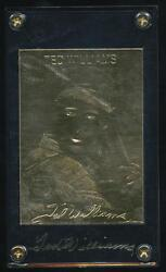 1996 Gold Performance 22k Gold Card Ted Williams Limited Edition Serial 5602