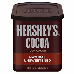 Hershey's Cocoa 100 Natural Unsweetened Chocolate Powder 23 Oz