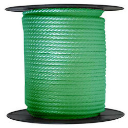 Anchor Rope Dock Line 5/8 X 250and039 Braided 100 Nylon Green Made In Usa