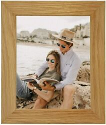 Wide Real Solid Oak Picture Photo Frames Uk -available In All Sizes. New