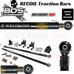 BDS RECOIL TRACTION BARS FOR 11-16 CHEVY 34 TON & 1 TON 2WD  4WD SUSPENSION