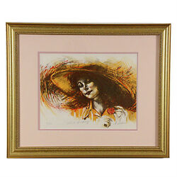 Touch Of Spring By Anthony Sidoni Signed Limited Edition 71/150 Lithograph