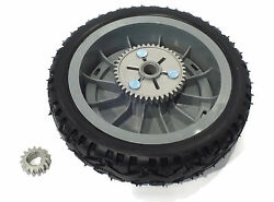 Oem Toro Rear Drive Wheel And Gear Pinion Assy For Super Recycler Push Lawn Mower