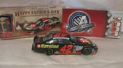 Rare Le Nascar 42 Jamie Mcmurray Signed Havoline Intrepid 124 Scale Diecast 2004