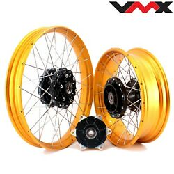 Vmx 2.1521'' /4.2517 Tubeless Wheels Rims For Bmw F800gs Adventure 2008-2020