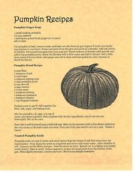 Book Of Shadows Spell Pages Pumpkin Recipes Wicca Witchcraft Bos