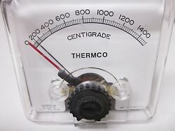 Api Instruments 26-9634-1101 Thermco Shielded Meter, 0-1500c - Used Analock