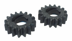 2 Starter Motor Drive Gears For Briggs And Stratton Mtd Murray 4114 4115 4194