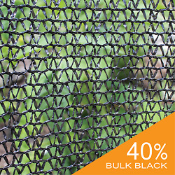 UV Block 40% Black Wind Screen Bulk Shade Cloth Privacy Fence