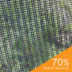 UV Block 70% Black Wind Screen Bulk Shade Cloth Privacy Fence