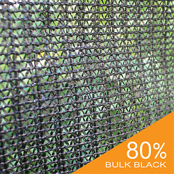 UV Block 80% Black Wind Screen Bulk Shade Cloth Privacy Fence