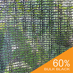 UV Block 60% Black Wind Screen Bulk Shade Cloth Privacy Fence