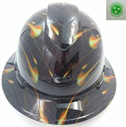 New Custom Pyramexfull Brim Hard Hat Honeycomb Carbon See Store Best Selection