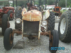 Ford 8n Tractor With Front Mount Distributor For Parts