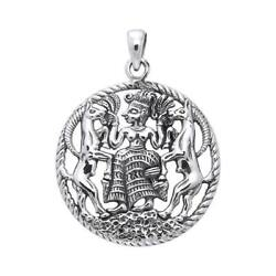 Oberon Zell Astarte Pendant .925 Sterling Silver By Peter Stone Jewelry