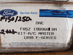 Ford OEM Auto Air Conditioner Kit F85Z-19B968-BA! 1999 F-Series Truck Vehicle AC
