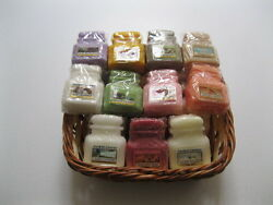 Yankee Jar Wax Melts quot;2quot; Melts Per Scent Choose Your Scents FREE SHIPPING