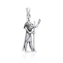 Egyptian God Set .925 Sterling Silver Pendant By Peter Stone Jewelry Fine