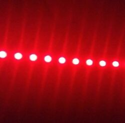 Super Bright Red Pontoon Boat Lights - - 300 Ledand039s Total - - Free Switch And Wire