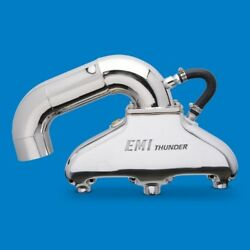 Emi Thunder Exhaust System Sb Chevy With Hi Perf S Pipe Polished Finish Emi-451p