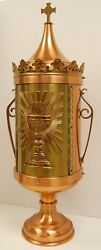 Bronze Church Repository / Tabernacle For Holy Thursday And Good Friday Tcg104