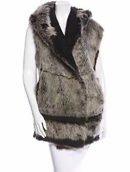 Spectacular Nwt 4200 Sold Out Donna Karan Long Hair Shearling Fur Vest