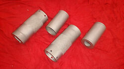 Antique Excelsior Complete Exhaust Valve Covers 1918-24 Dull Plating