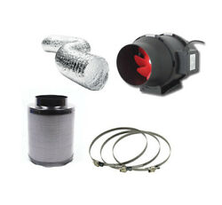 Hydroponic Fox Carbon Filter 2 Speed Extractor Fan Kit 125mm 5