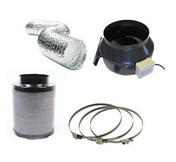Hydroponics Fox Carbon Filter Extractor Fan Complete Kit 250mm 10