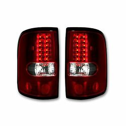 Recon 264178rd Ford F-150 1997-2017 Red-red Tail Lights Led