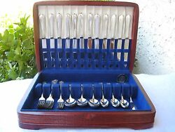 Vintage Sterling Silver 49 Pieces Flatware/silverware Set