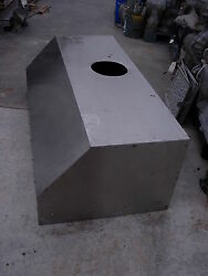 Stainless Restaurant Kitchen Exhaust Hood 5and039 1/4 W X 21 H X 30 D Used